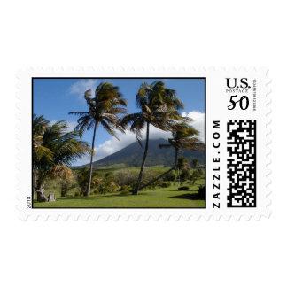 Plantation on St. Kitts Postage