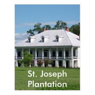 PLANTATION POSTCARD