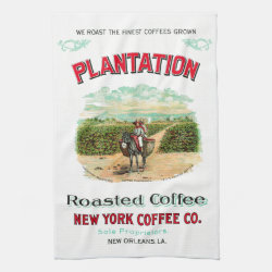 Plantation Coffee Towel