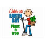 Plante las postales de un árbol