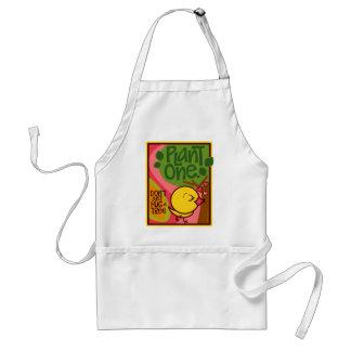 Plante un árbol delantal