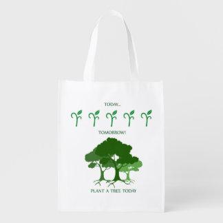 Plante un árbol hoy bolsas para la compra