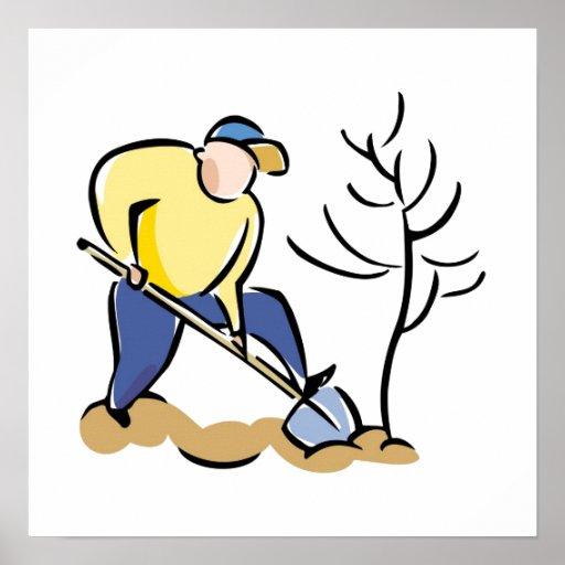 Plante un árbol impresiones