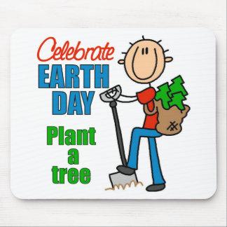 Plante un árbol Mousepad Alfombrilla De Raton