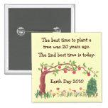 Plante un árbol. Perno inspirado del cenador o del Pin