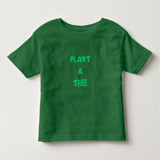 Plante un árbol playera de niño