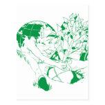 Plante un árbol tarjeta postal