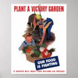 Plante un jardín de victoria -- Nuestra comida est Impresiones
