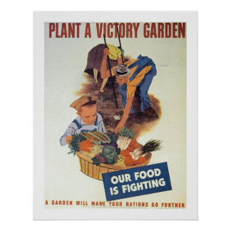 Plante un jardín de victoria impresiones