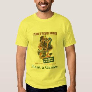 Plante un jardín playera