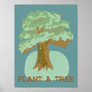Plante un poster del árbol