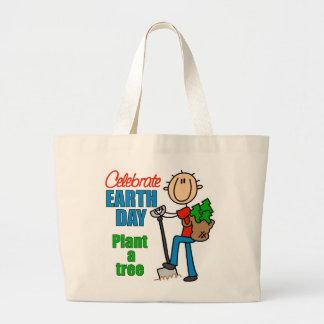 Plante una bolsa de asas del árbol