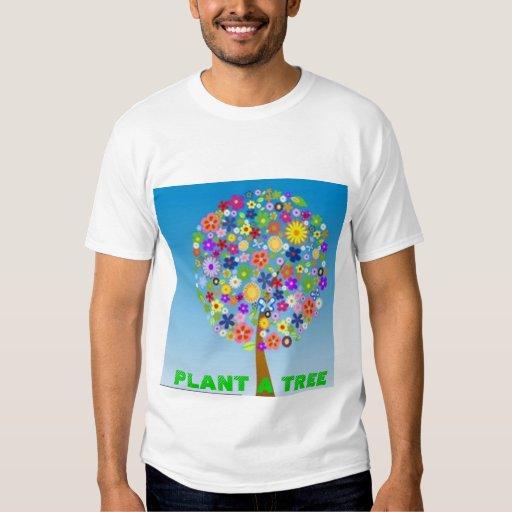 PLANTE una camiseta del ÁRBOL Playeras