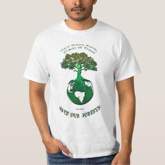 PLANTE una camiseta del Día de la Tierra del arte