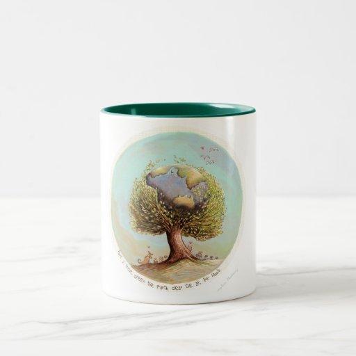 Plante una taza del árbol