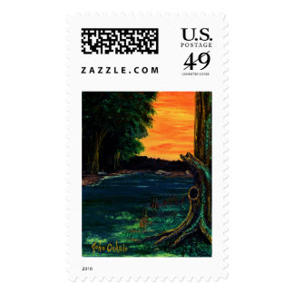 PLANTED BY THE WATERS ~ POSTAGE