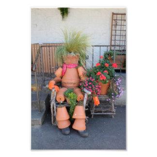 planter person photo art