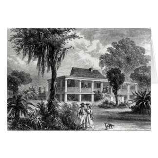 Planter's House on the Mississippi Greeting Card