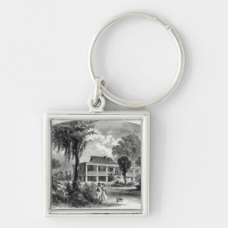 Planter's House on the Mississippi Keychain