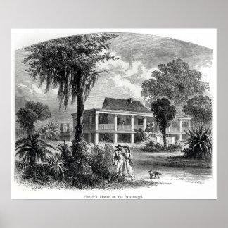 Planter's House on the Mississippi Poster