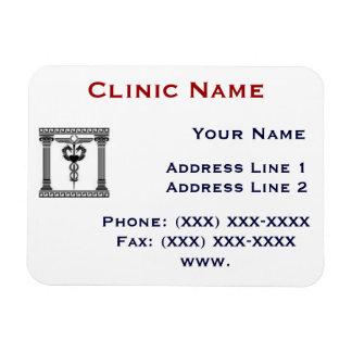 Plantilla 1 del imán de Promotionasl de la clínica
