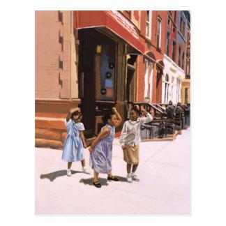 Plantilla 2001 de Harlem Postales