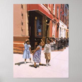 Plantilla 2001 de Harlem Póster