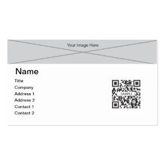 Plantilla 2 genéricos de la tarjeta de visita