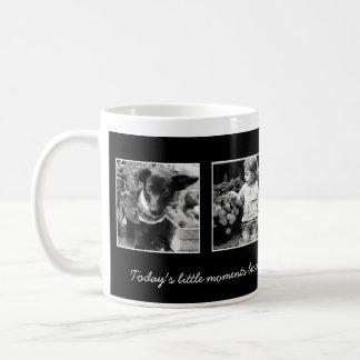 plantilla 4-Photo personalizada Taza De Café