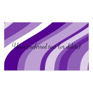 Plantilla abstracta de la tarjeta de visita