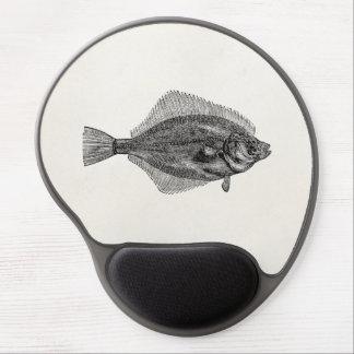 Plantilla acuática de los pescados de los pescados alfombrilla con gel