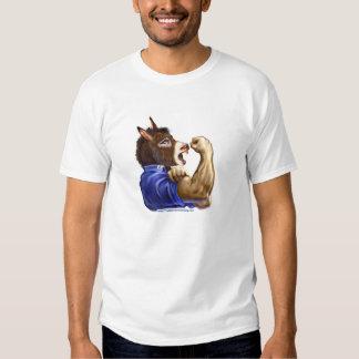 Plantilla adaptable - Demócrata de votación desde Camisas
