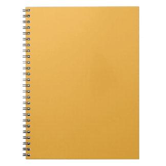 Plantilla amarilla del espacio en blanco de la ten cuadernos
