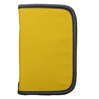 Plantilla amarilla organizador