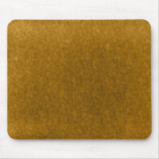 Plantilla ambarina de la acuarela del oro de la co tapete de raton