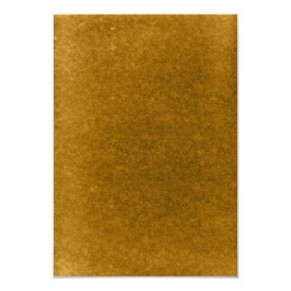 Plantilla ambarina de la acuarela del oro de la invitación 8,9 x 12,7 cm