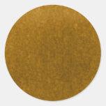 Plantilla ambarina de la acuarela del oro de la etiquetas redondas