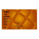 Plantilla ambarina de la tarjeta de visita que bur