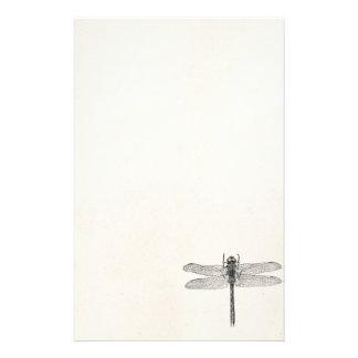 Plantilla americana de la mosca del dragón de la papeleria personalizada