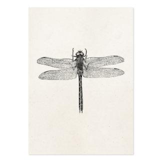 Plantilla americana de la mosca del dragón de la tarjetas de visita grandes