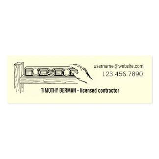 Plantilla autorizada de la tarjeta de visita del