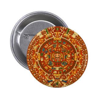 Plantilla azteca de Qpc de los regalos Pin