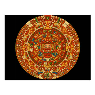 Plantilla azteca de Qpc de los regalos Tarjetas Postales