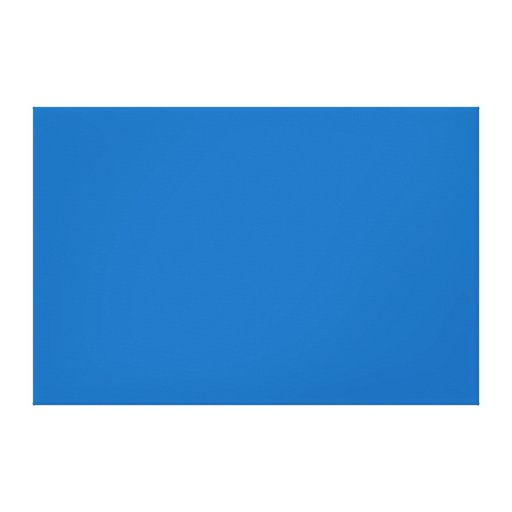 Plantilla azul brillante del espacio en blanco de  impresiones en lona