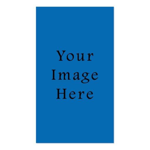 Plantilla azul brillante del espacio en blanco de  tarjetas de visita
