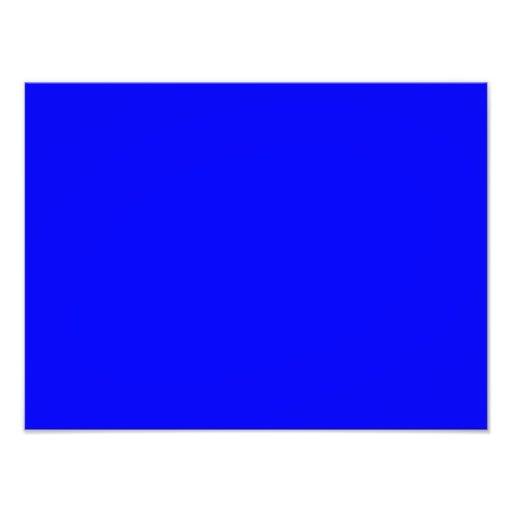 Plantilla azul brillante pura del espacio en blanc fotografías