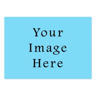 Plantilla azul clara de Jánuca Chanukah Hanukah Tarjetas De Visita Grandes