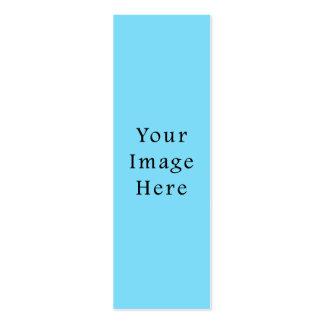 Plantilla azul clara de Jánuca Chanukah Hanukah Tarjetas De Visita Mini