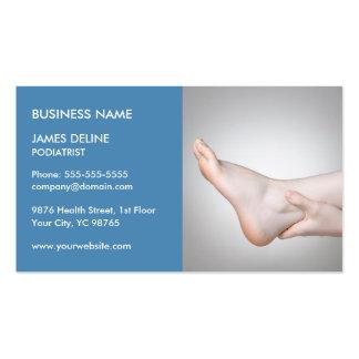 Plantilla azul clásica de la tarjeta de visita del tarjetas de visita