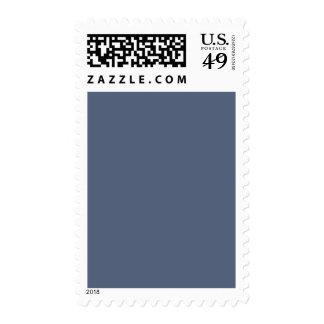 Plantilla azul confederada profunda del espacio en sellos